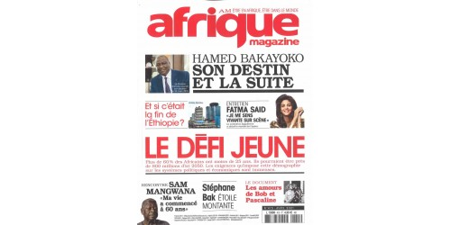 AFRIQUE MAGAZINE (to be translated)