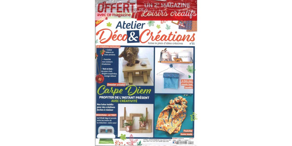 atelier d co cr ations magazines lecto. Black Bedroom Furniture Sets. Home Design Ideas