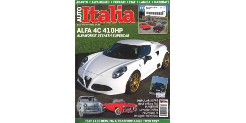 AUTO ITALIA (to be translated)