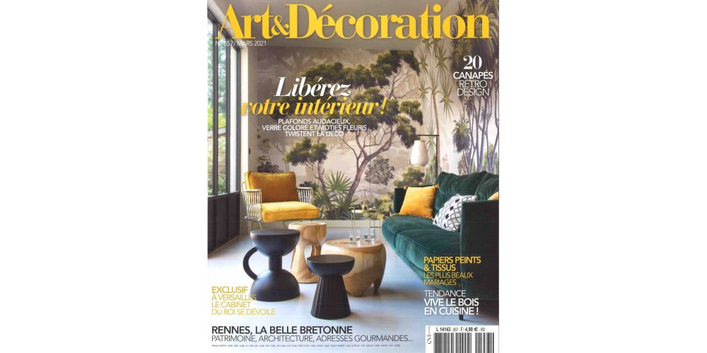 art d coration magazines lecto. Black Bedroom Furniture Sets. Home Design Ideas