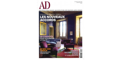 AD ARCHITECTURAL DIGEST FRANCE