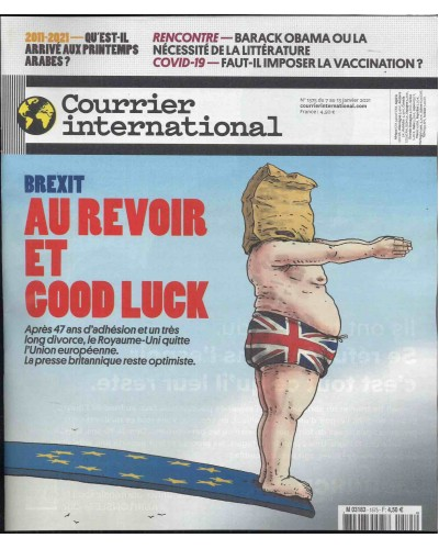 COURRIER INTERNATIONAL (to be translated)