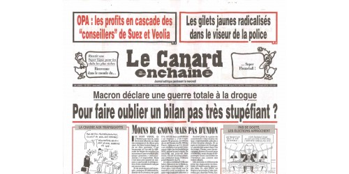 CANARD ENCHAÎNÉ (to be translated)