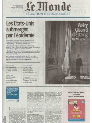 LE MONDE SÉLECTION HEBDOMADAIRE (to be translated)
