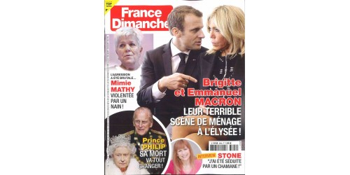 FRANCE DIMANCHE (to be translated)