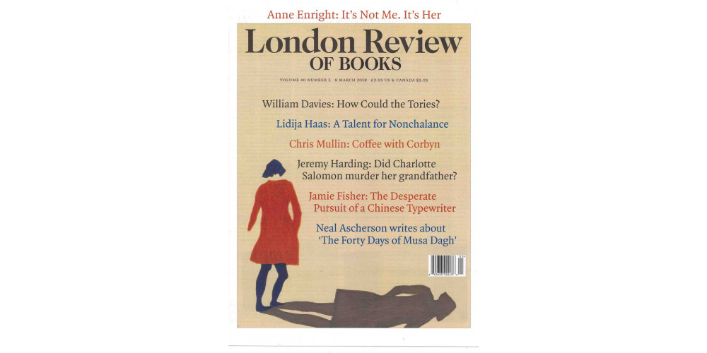 LONDON BOOK REVIEW