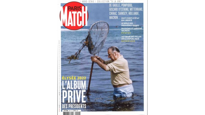 "PARIS MATCH COLLECTION ""A LA UNE"""