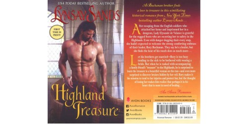 HIGHLAND TREASURE - LYNSAY SANDS