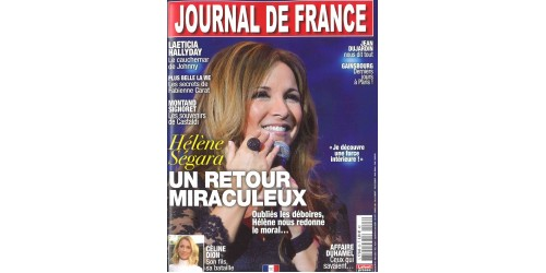 JOURNAL DE LA FRANCE (to be translated)
