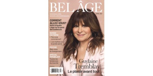 BEL ÂGE (to be translated)