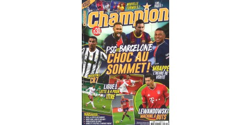 CHAMPION (to be translated)